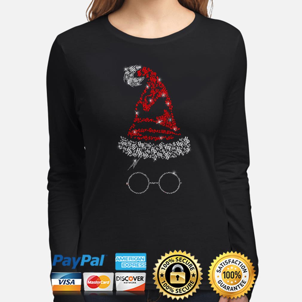 Harry Potter Santa Witch hat glass Christmas long sleeve