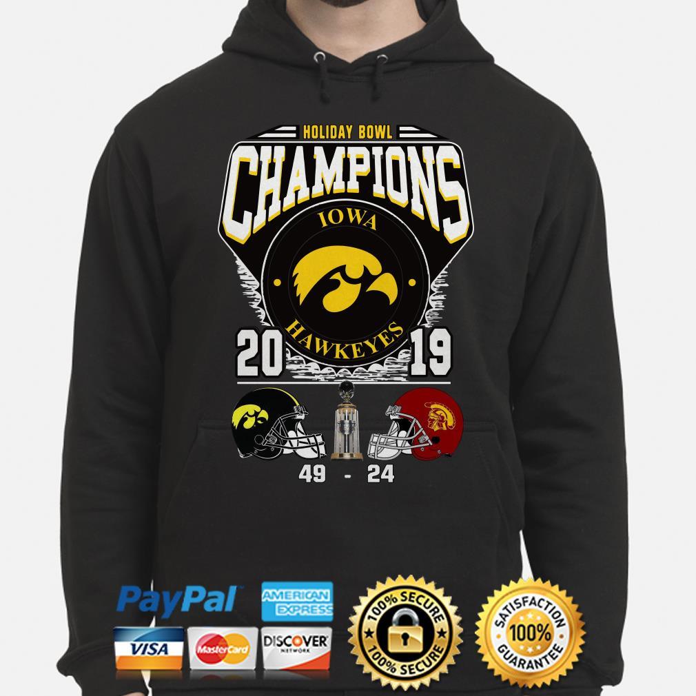 Holiday Bowl Champions 2019 Iowa Hawkeyes Hoodie