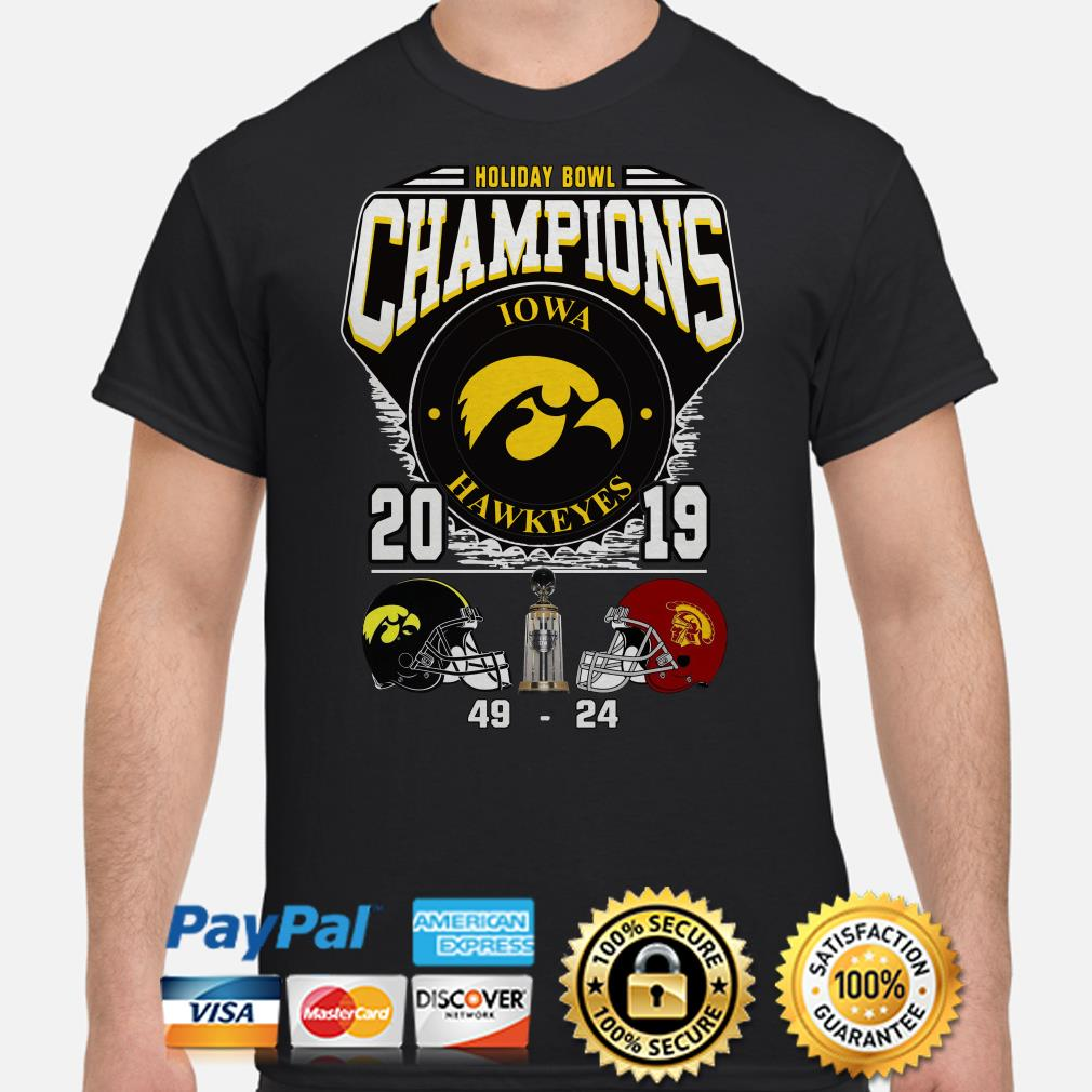 Holiday Bowl Champions 2019 Iowa Hawkeyes shirt
