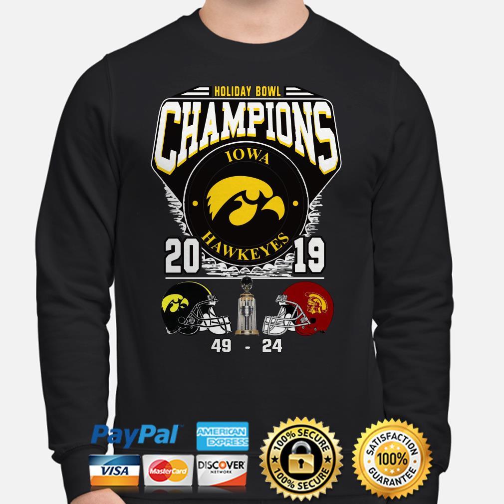 Holiday Bowl Champions 2019 Iowa Hawkeyes Sweater