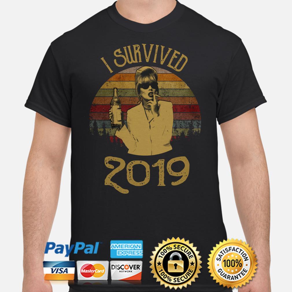 Jennifer Saunders I Survived 2019 vintage shirt