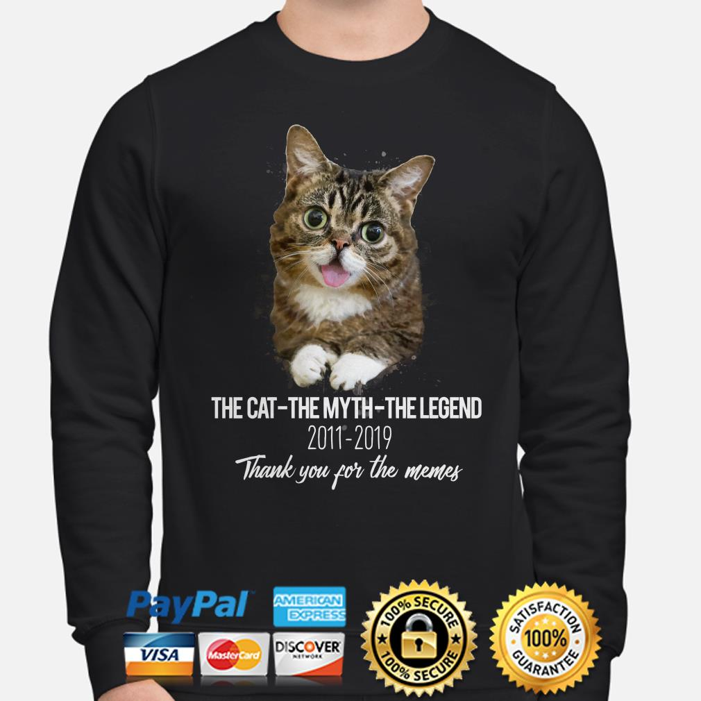 Lil Bub the cat the myth the legend thank you for the memes Sweater