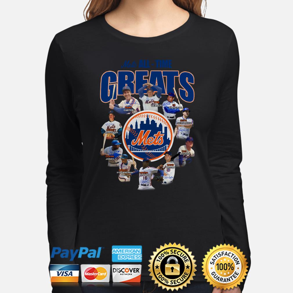 New York Mets All-time Greats Signature Long sleeve
