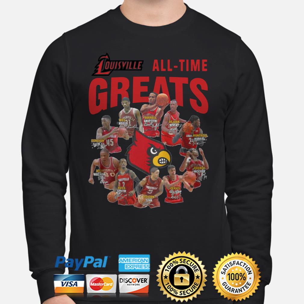 Louisville all-time greats signature Sweater