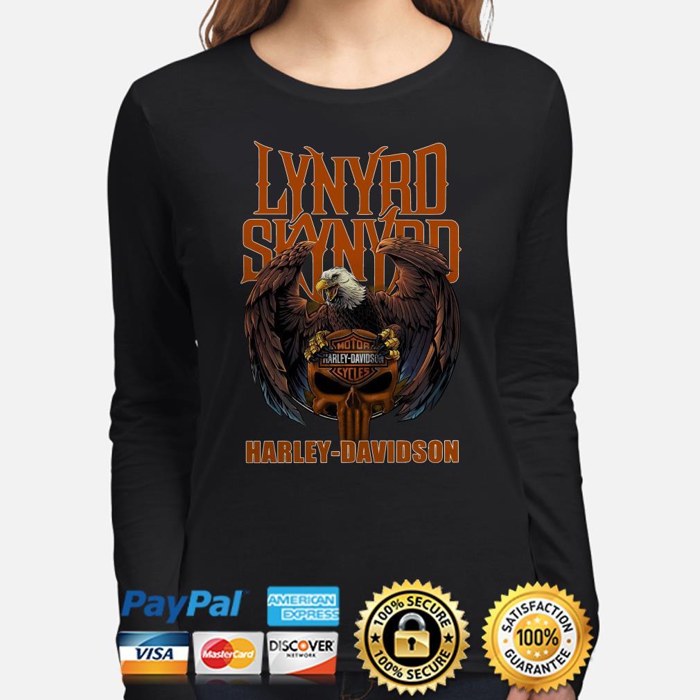 Lynyrd Skynyrd Harley Davidson Eagle Long sleeve