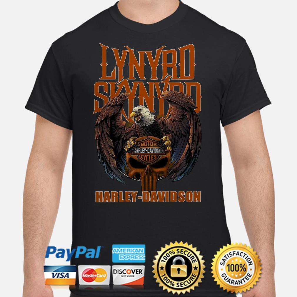 Lynyrd Skynyrd Harley Davidson Eagle shirt