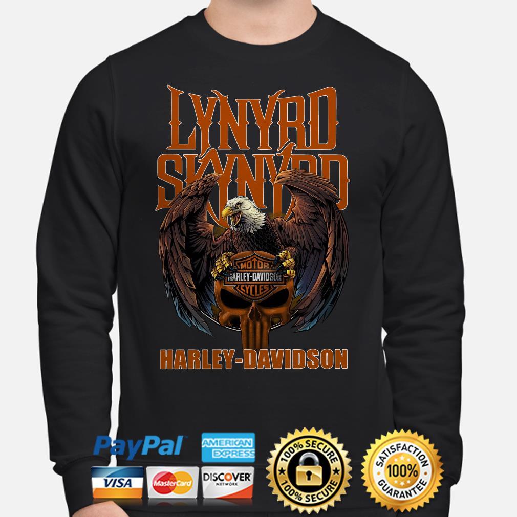 Lynyrd Skynyrd Harley Davidson Eagle Sweater