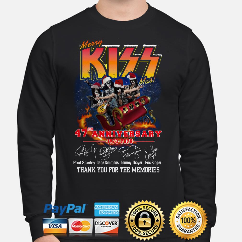 Merry Kissmas 47th Anniversary thank you for the memories Sweater