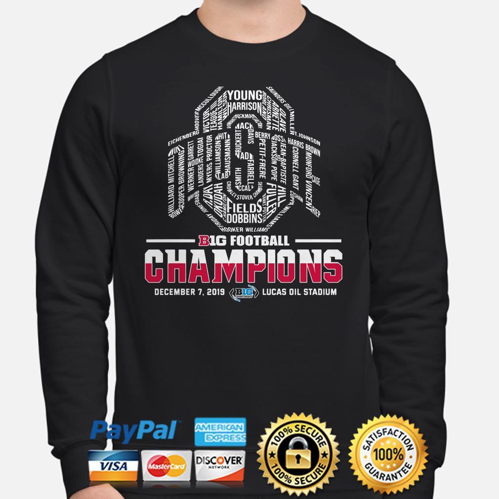 Ohio State Buckeyes big football Champions players name Sweater