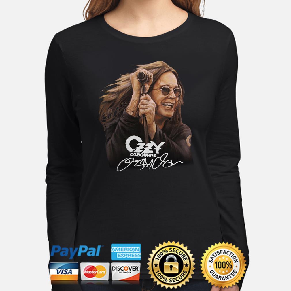 Ozzy Osbourne signature Long sleeve