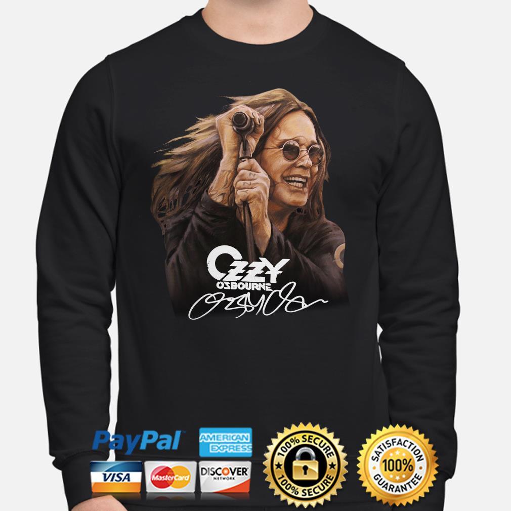 Ozzy Osbourne signature Sweater