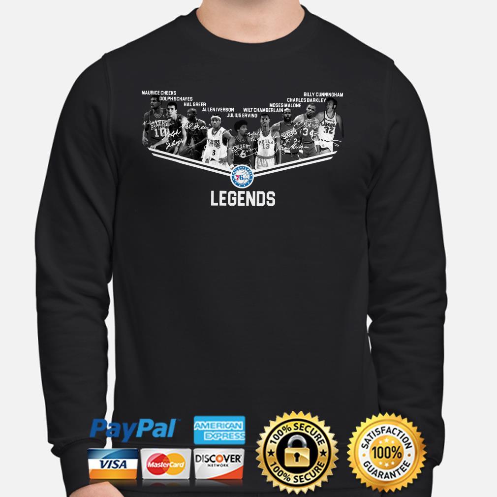 Philadelphia 76ers Legends signature Sweater