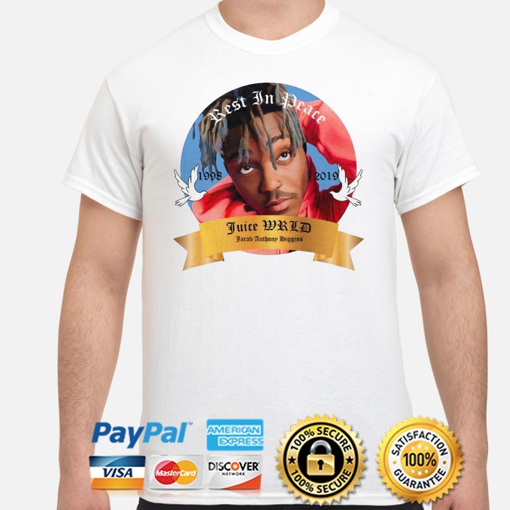 Rest in peace Juice WRLD 1998 2019 shirt