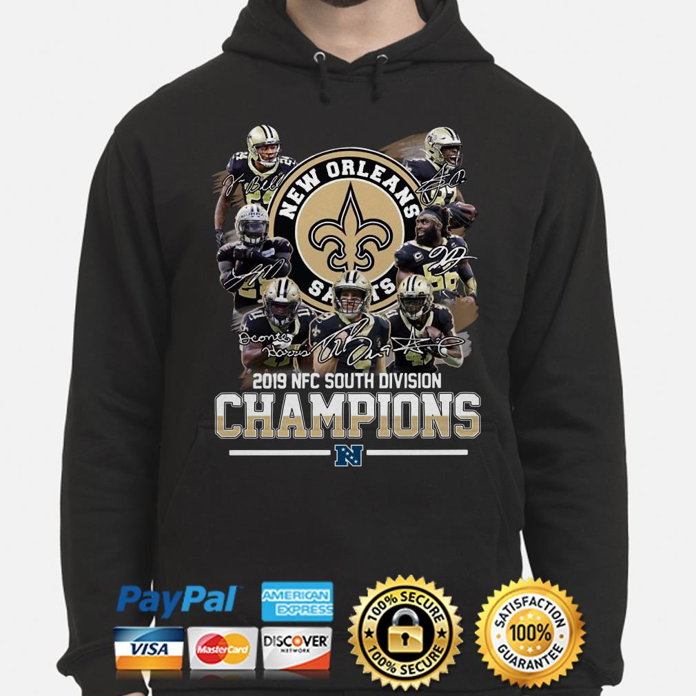 Saints New Orleans 2019 South Division Champions Hoodie