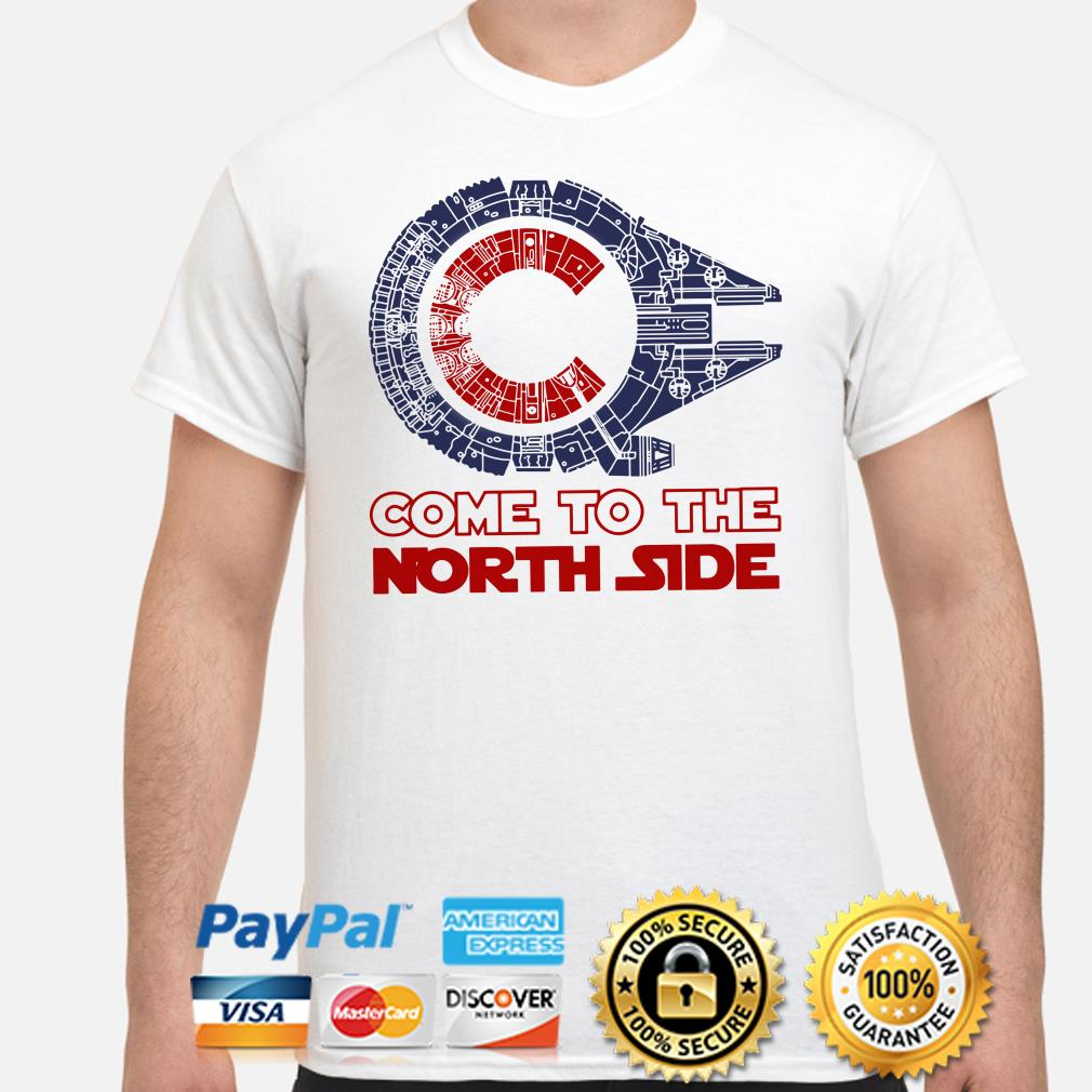 Chicago Cubs Millennium Falcon come to the North side shirt