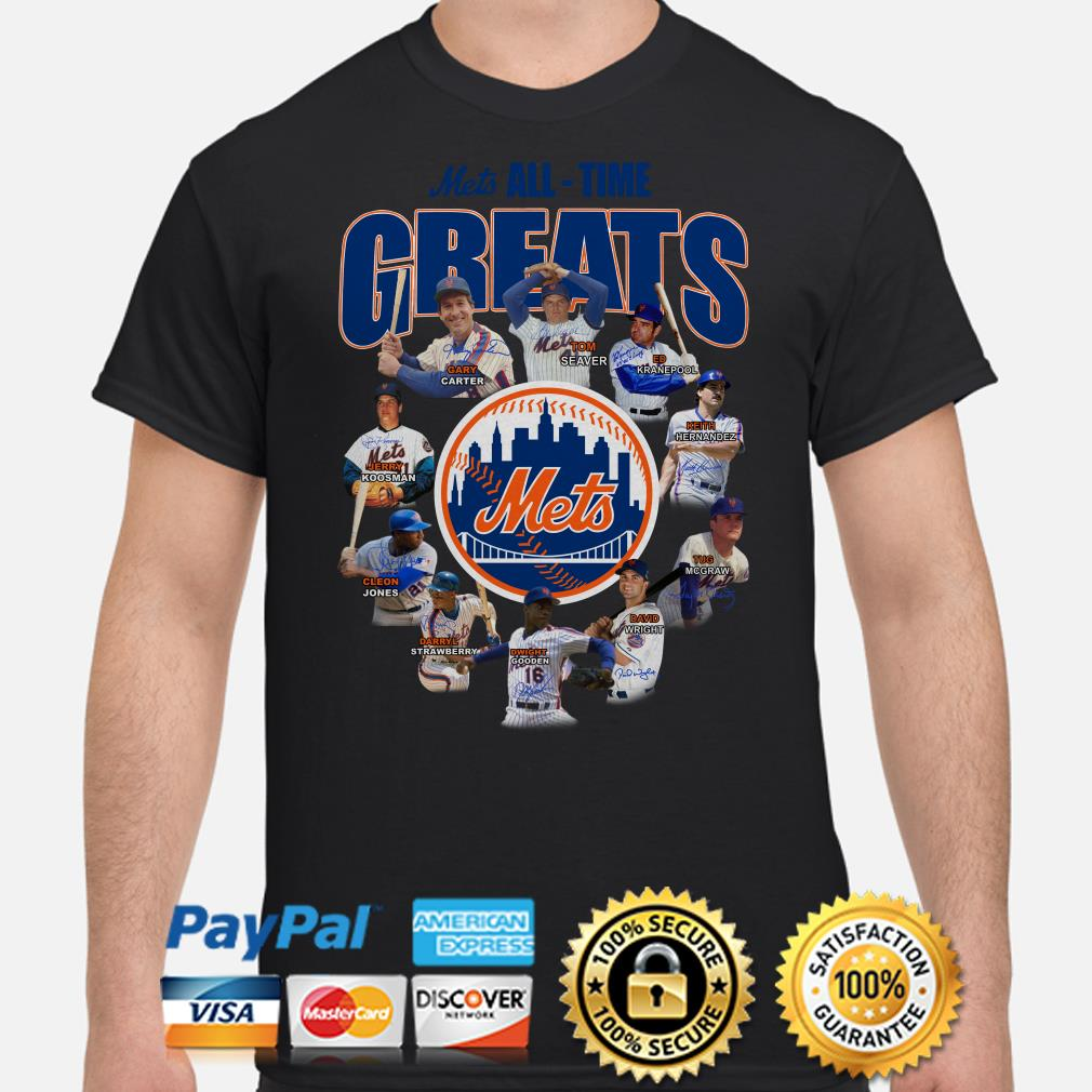 New York Mets All-time Greats Signature shirt