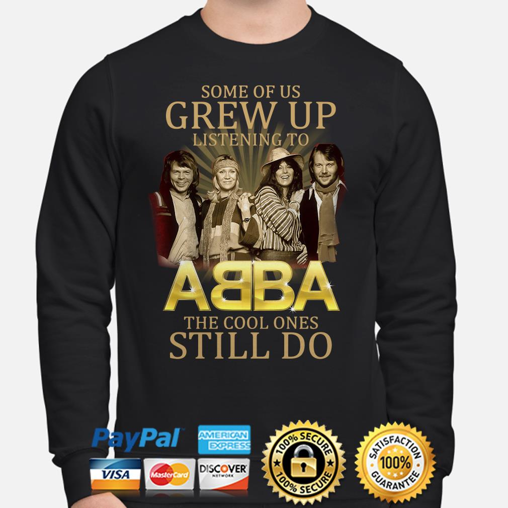 Some of us grew up listening to ABBA the cool ones still do Sweater