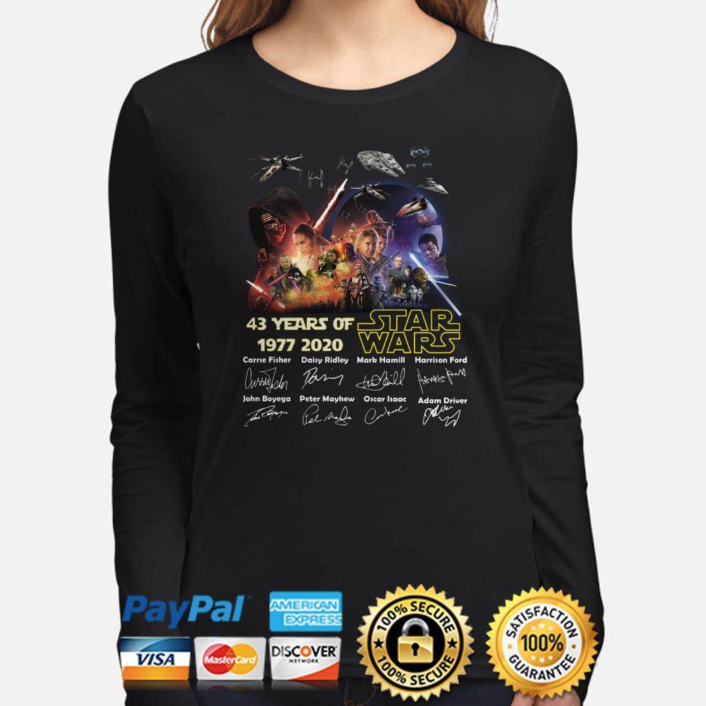 Star Wars 43 years of signature Long sleeve