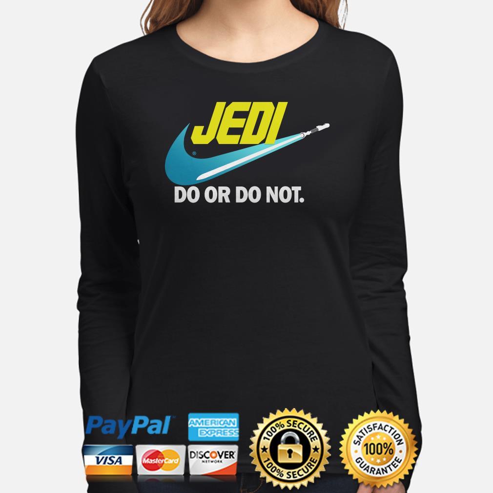 Star Wars Jedi do or do not Long sleeve