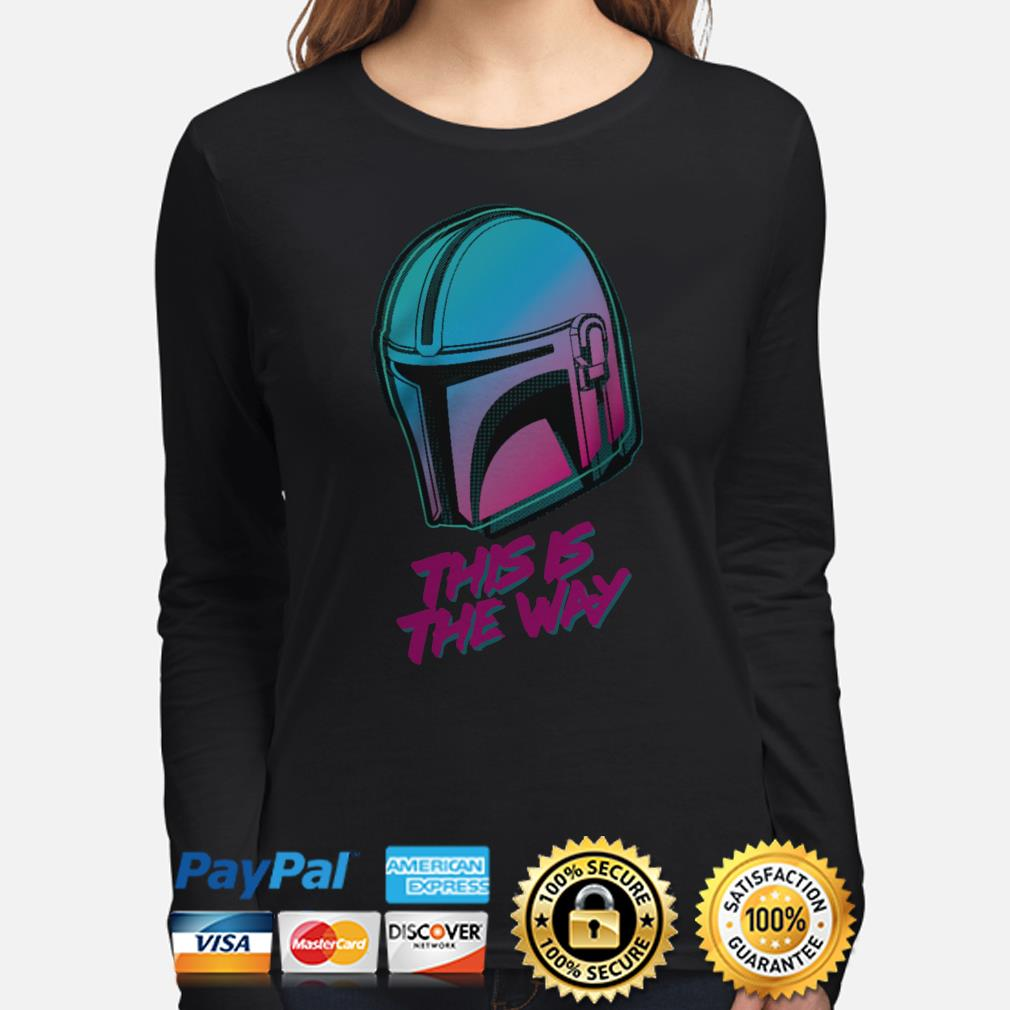 Star Wars this is the way Long sleeve
