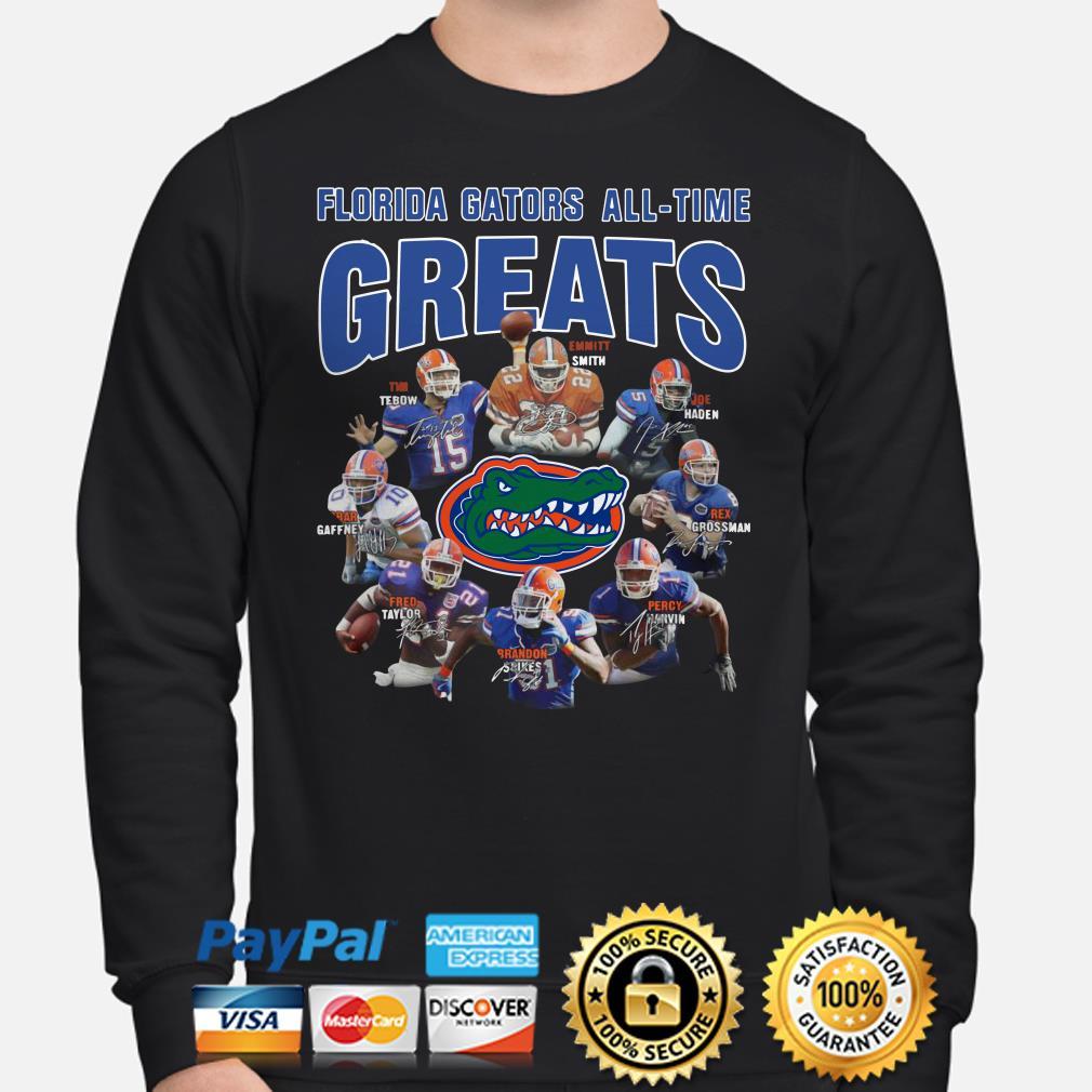 Florida Gators All-time greats signatures Sweater