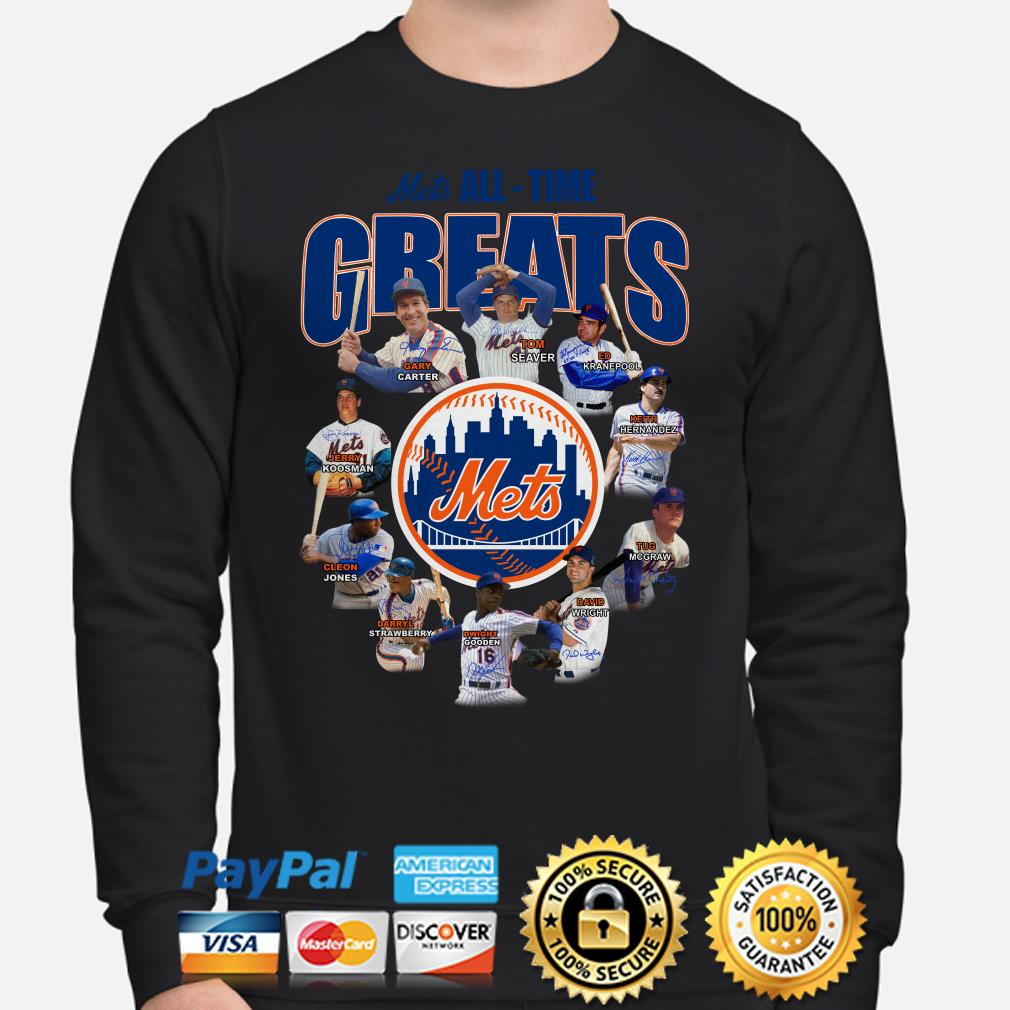 New York Mets All-time Greats Signature Hoodie