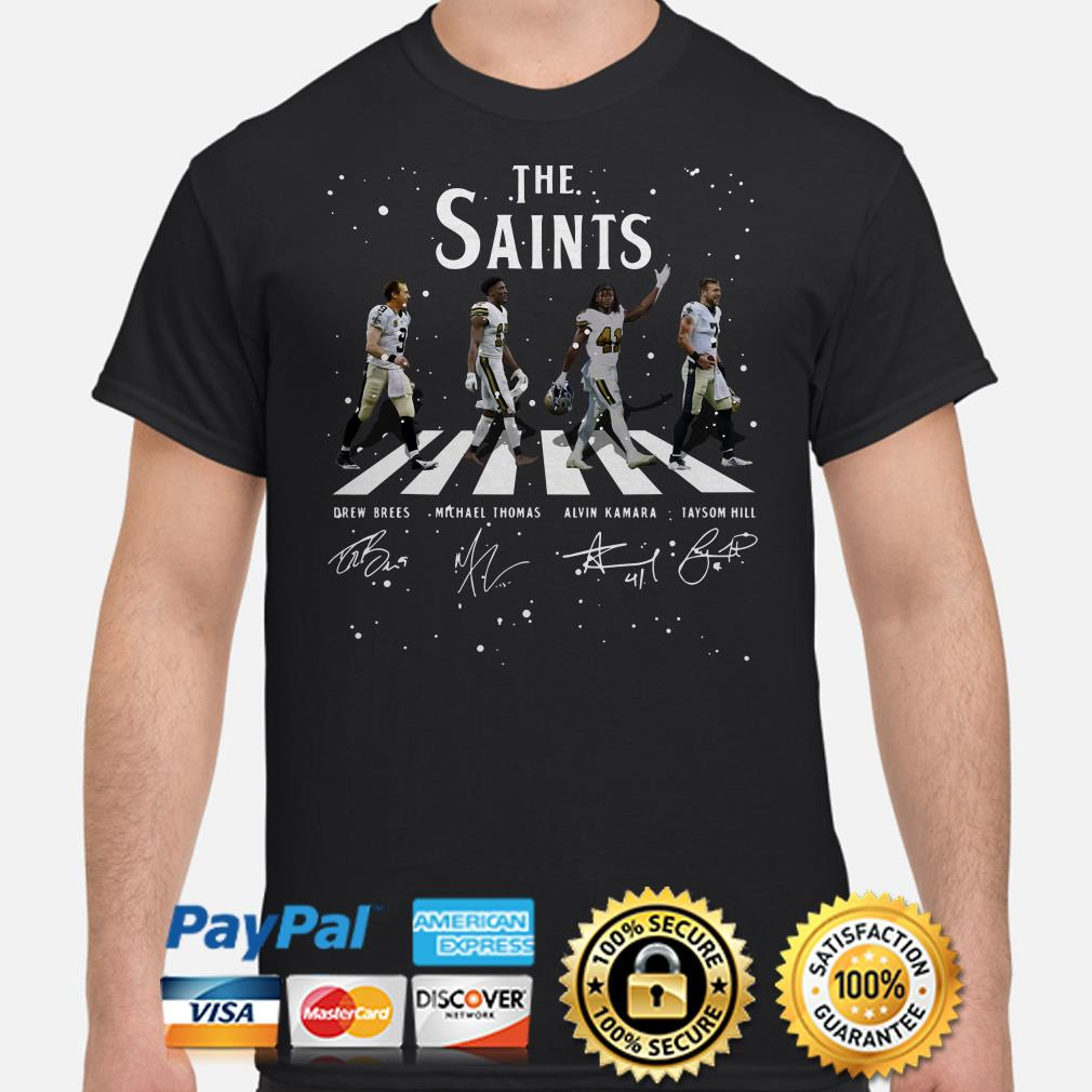 The Saints Abbey Road signature shirt