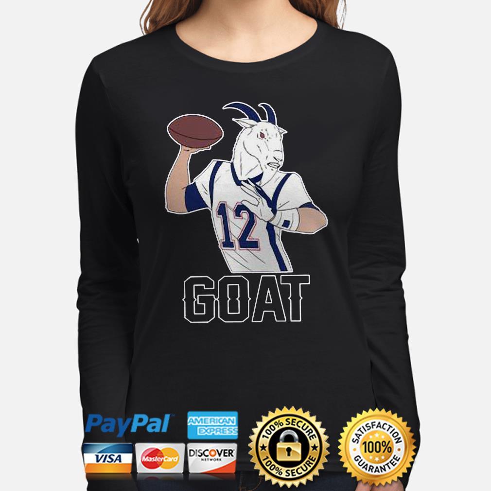 Tom Brady GOAT 12 Long sleeve