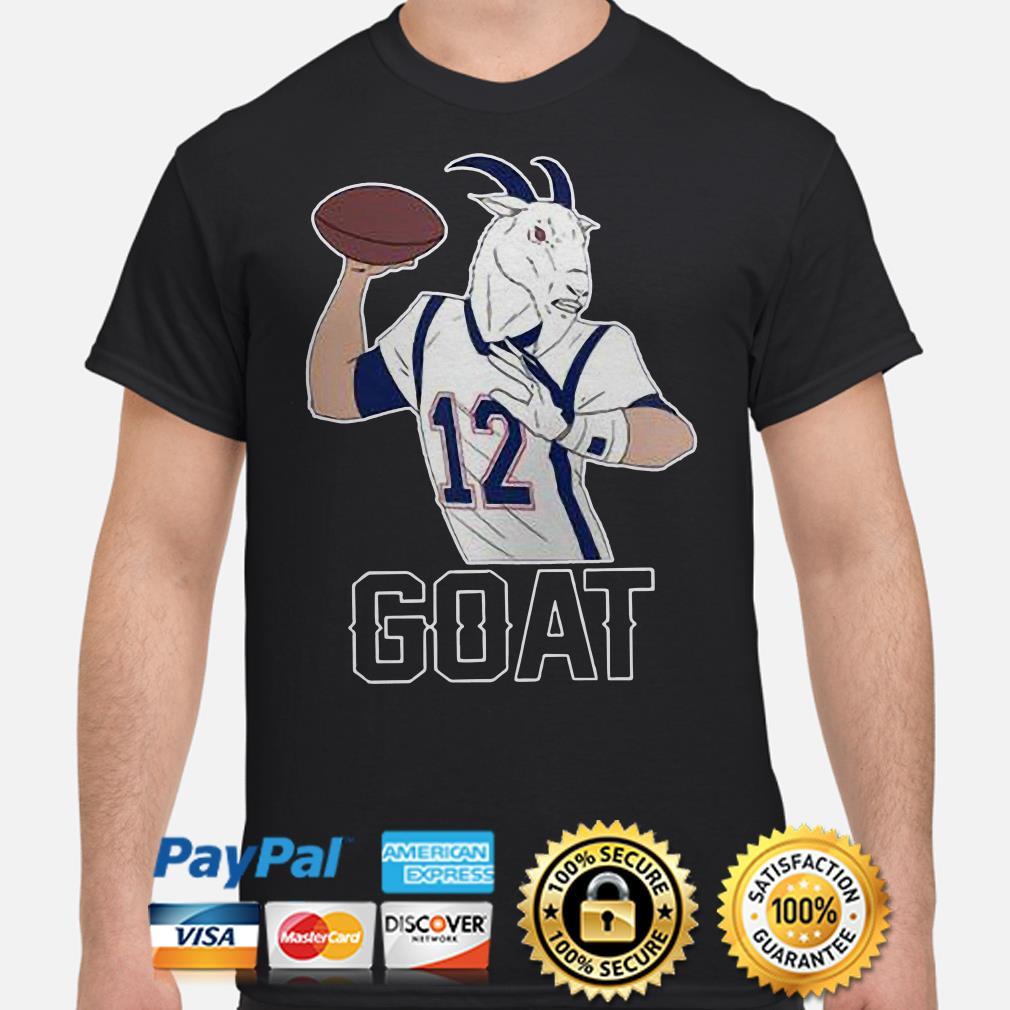 Tom Brady GOAT 12 shirt
