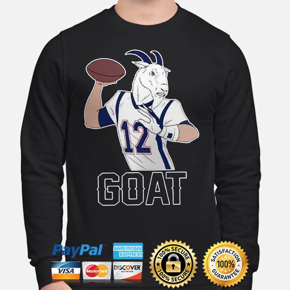 Tom Brady GOAT 12 Hoodie