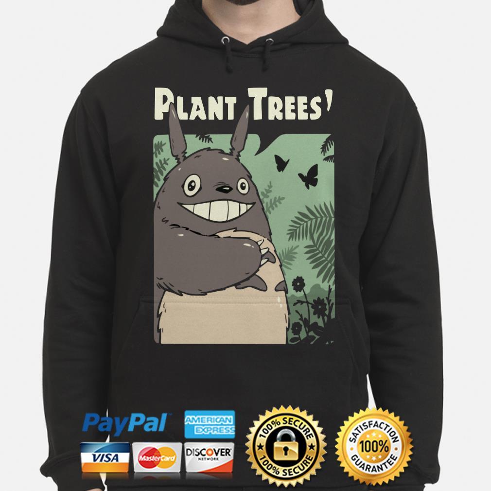 Totoro Plant Trees Hoodie