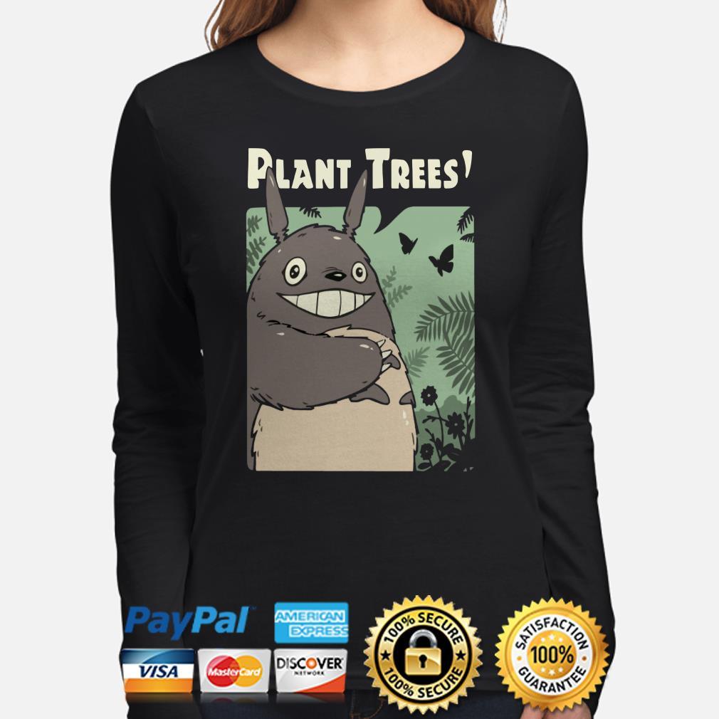 Totoro Plant Trees Long sleeve