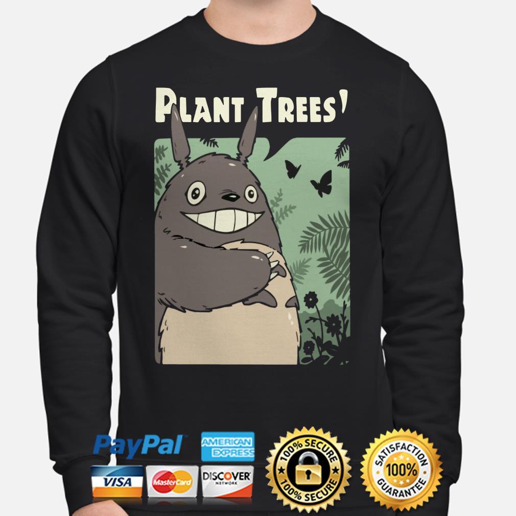 Totoro Plant Trees Sweater
