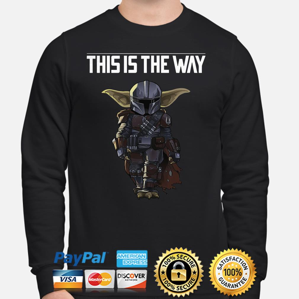 Baby Yoda Mandalorian this is the way Sweater