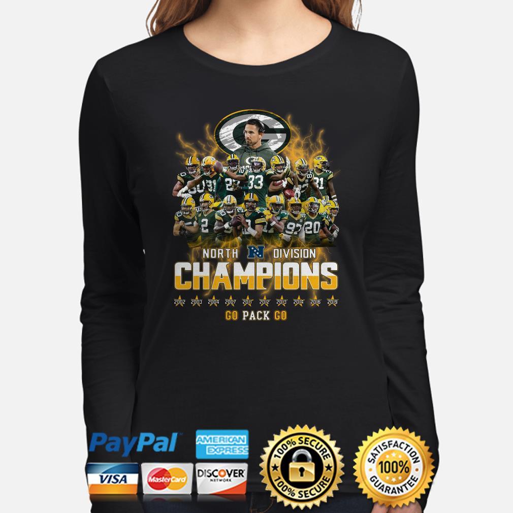 Green Bay Packers North Division Champions 2019 Long sleeve