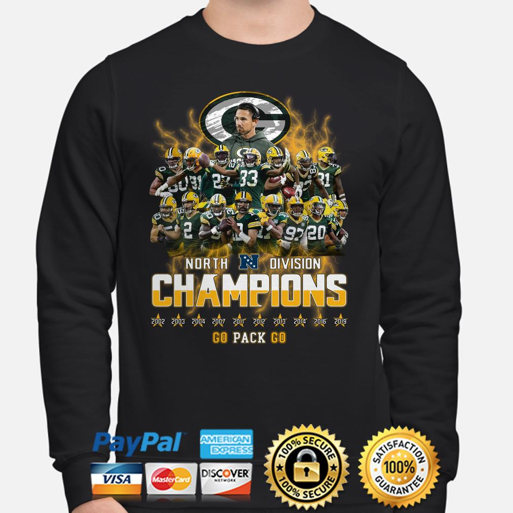 Green Bay Packers North Division Champions 2019 Sweater