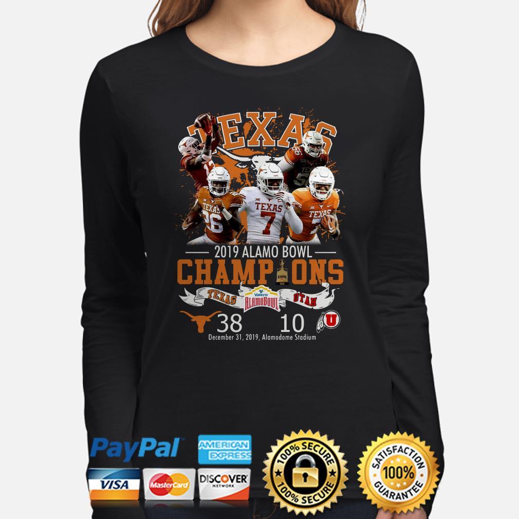 Houston Texas 2019 Alamo Bowl Champions Long sleeve