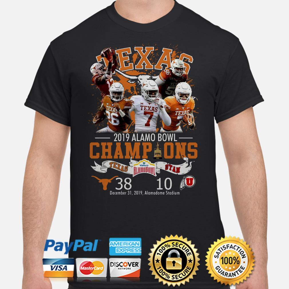 Houston Texas 2019 Alamo Bowl Champions shirt