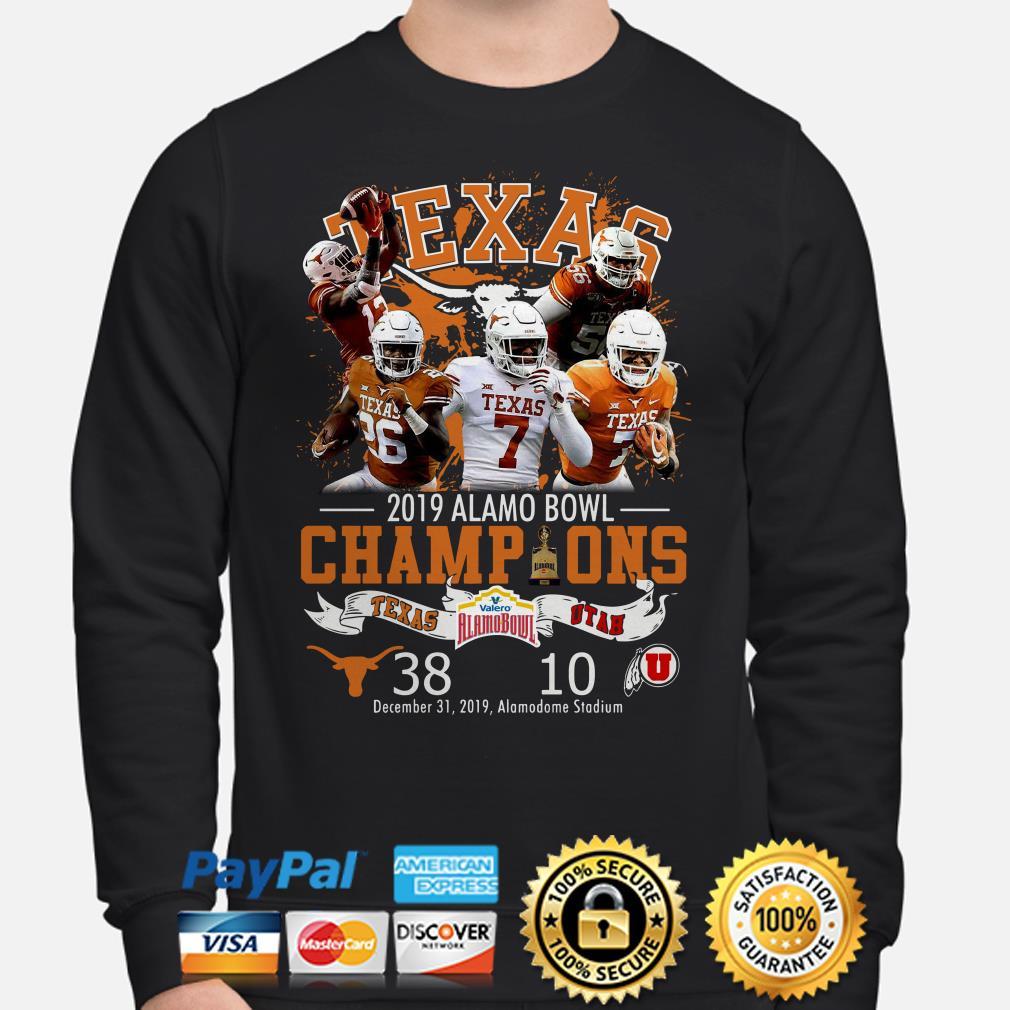 Houston Texas 2019 Alamo Bowl Champions Sweater