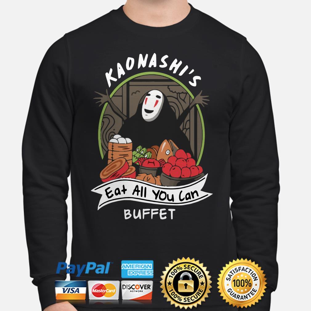 Kaonashi's eat all you can buffet Sweater