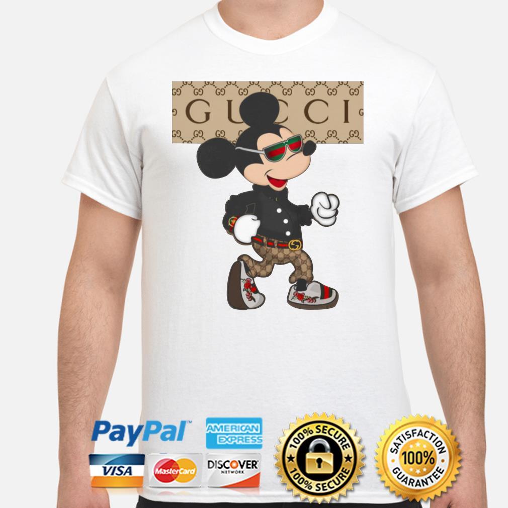 Mickey Mouse Gucci stylish fashionable shirt