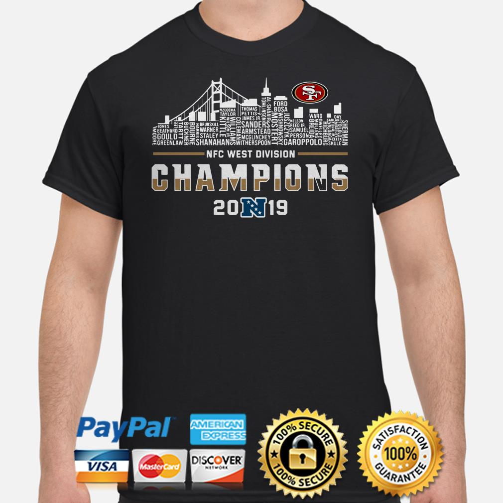 NFC West Division Champions 2019 San Francisco shirt
