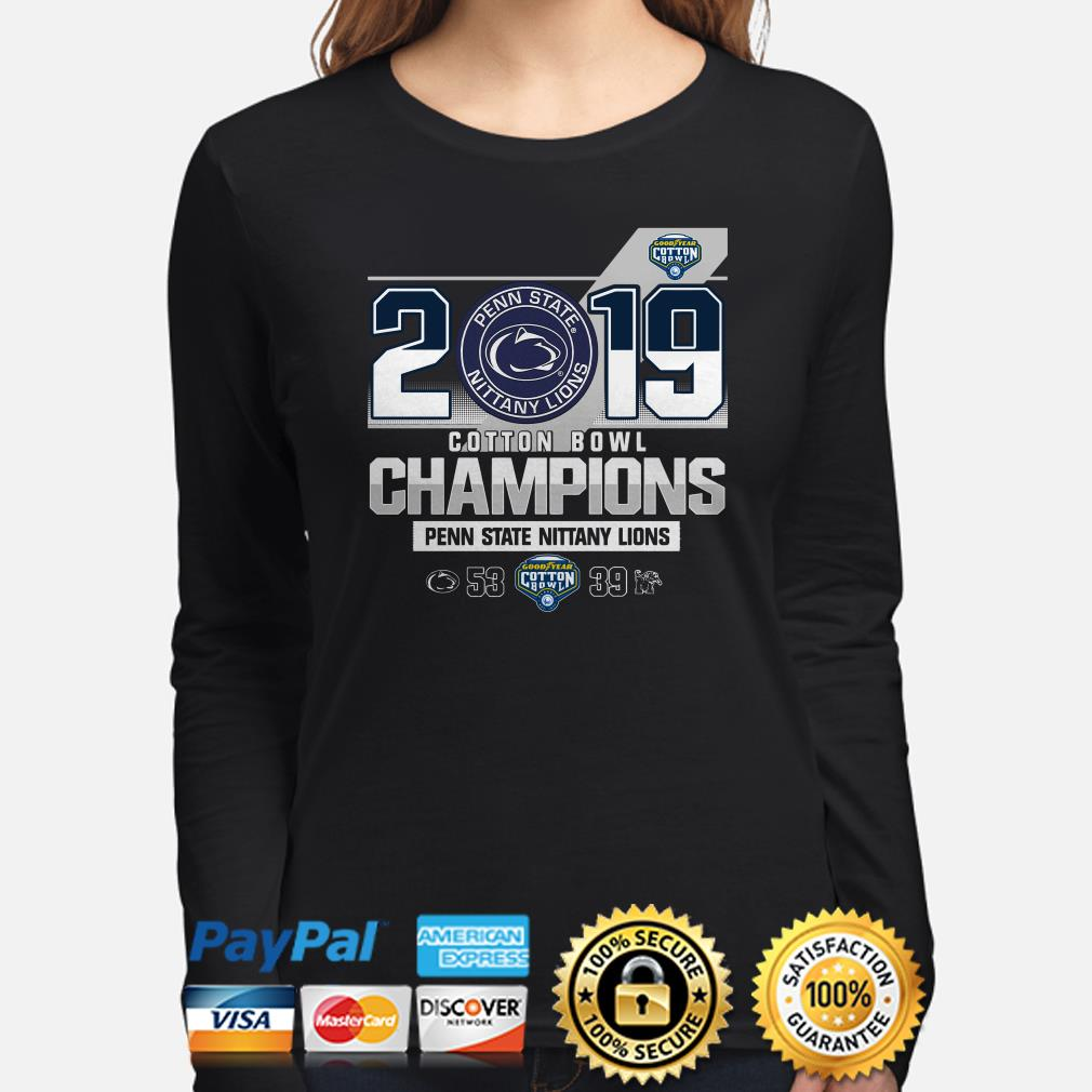 Penn State Nittany Lions 2019 Goodyear Cotton Bowl Champions Long sleeve