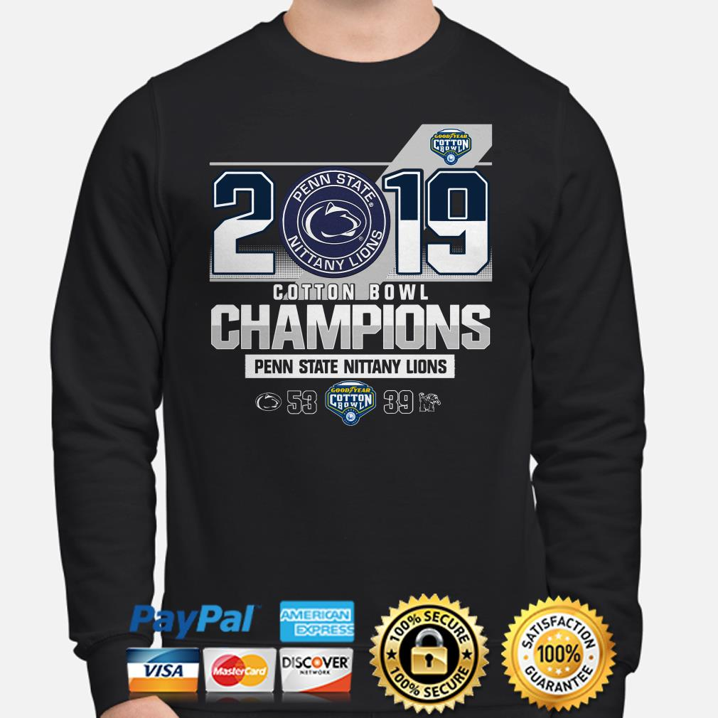 Penn State Nittany Lions 2019 Goodyear Cotton Bowl Champions Sweater