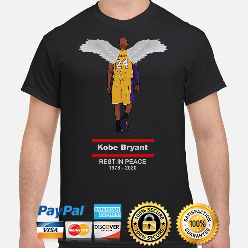 RIP Kobe Bryant Rest In Peace 1978 2020 Shirt