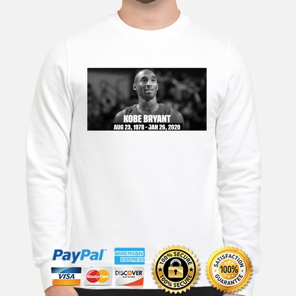 RIP Kobe Bryant Rest In Peace Aug 23 1978-Jan 26 2020 sweater