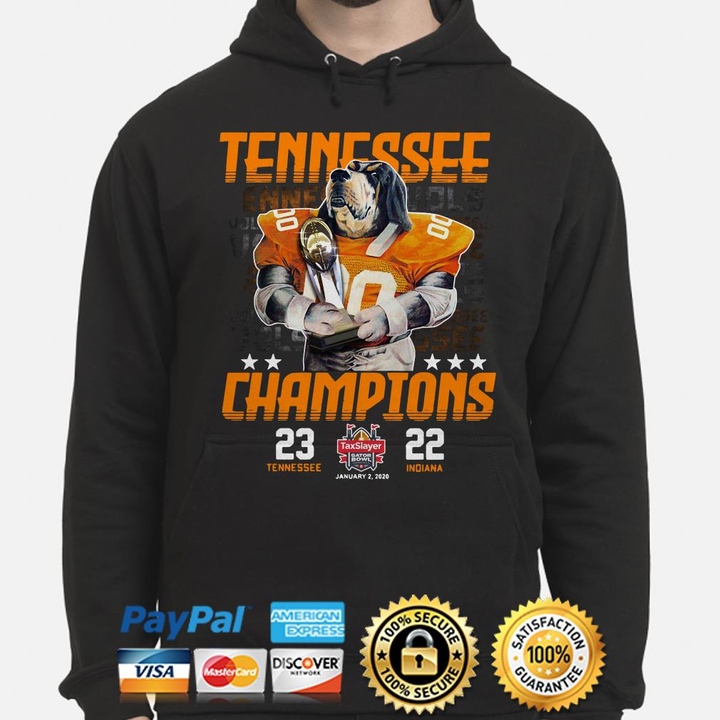 Tennessee Vols Champions 2019 Gator Bowl Hoodie