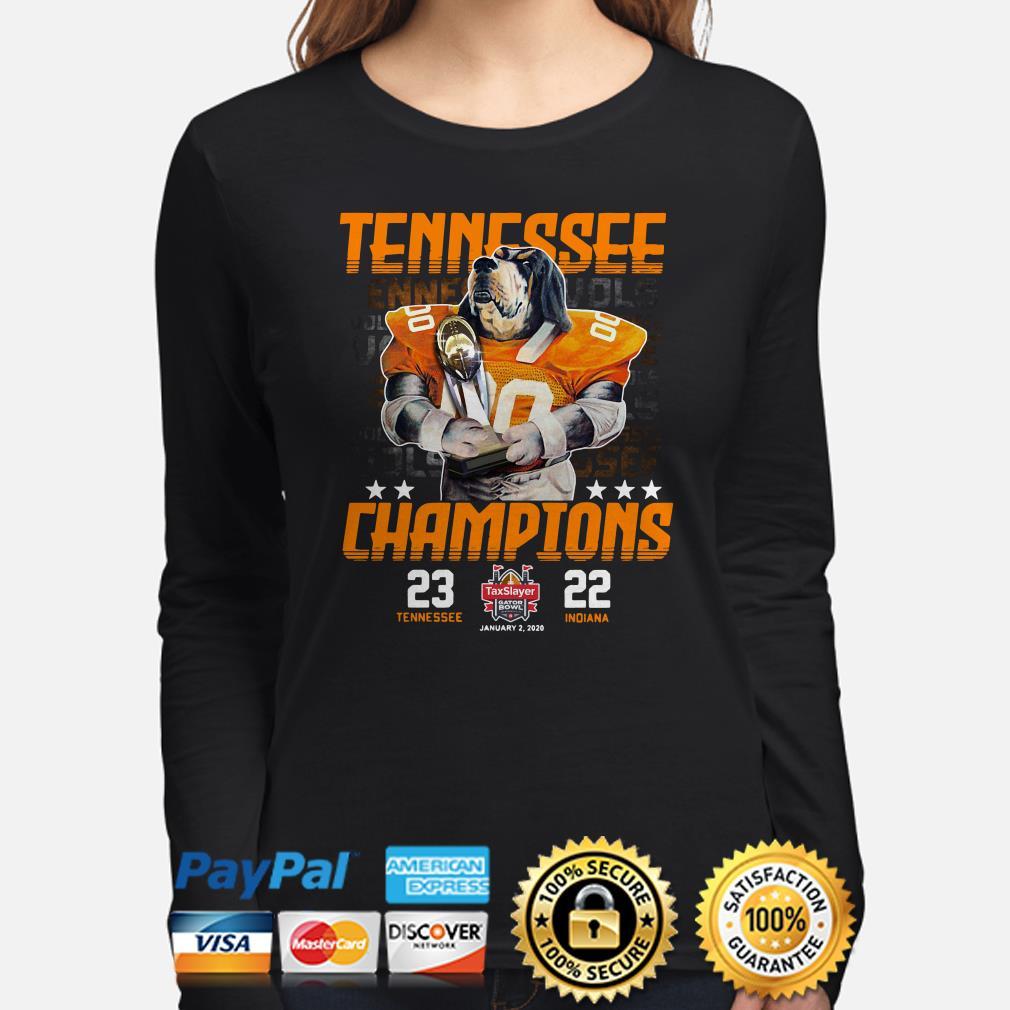 Tennessee Vols Champions 2019 Gator Bowl Long sleeve