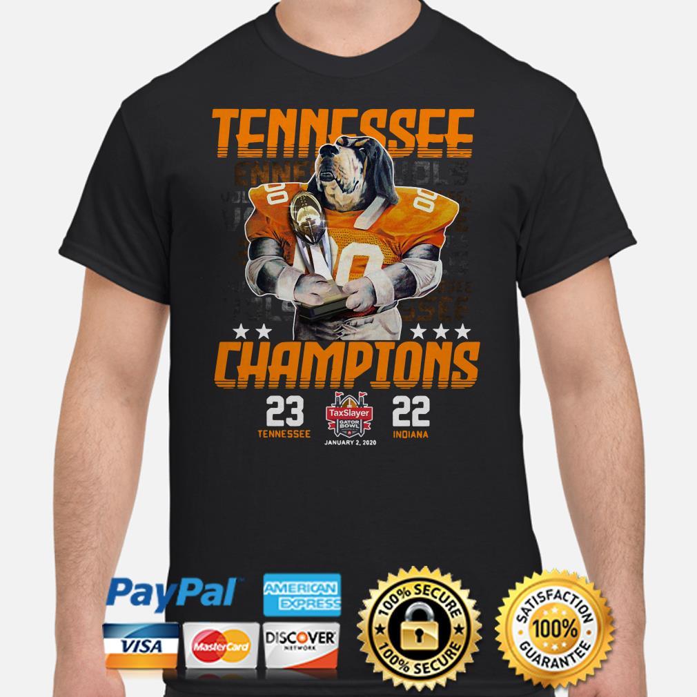 Tennessee Vols Champions 2019 Gator Bowl shirt