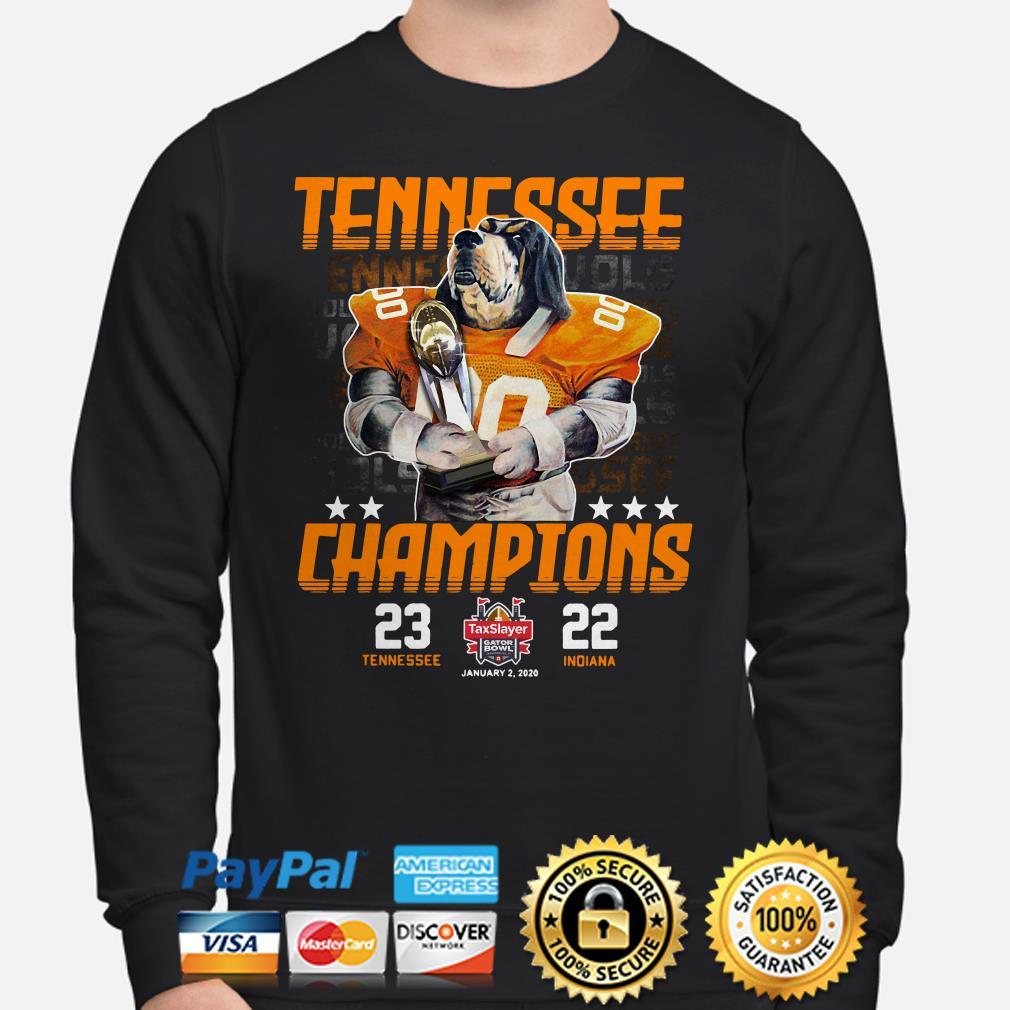 Tennessee Vols Champions 2019 Gator Bowl Sweater